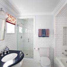 Eclectic Bathroom by Globus Builder