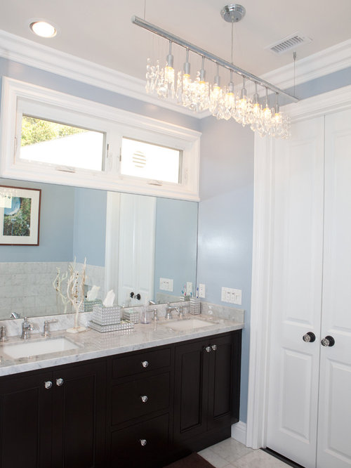 Transom Window Over Bathroom Mirror Home Design Ideas