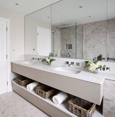 Contemporary Bathroom by Studio Clark + Co