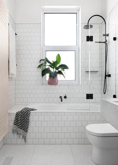 Scandinavian Bathroom by Fido Projects