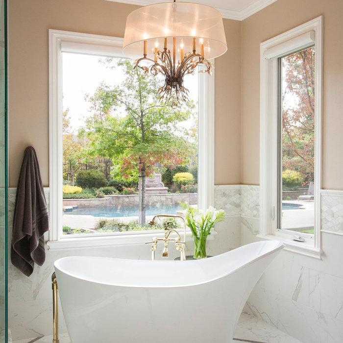 Gold Bathroom