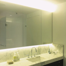 Contemporary Bathroom by Joseph Trojanowski Architect PC