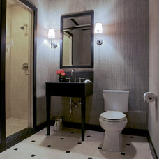 Traditional Bathroom by Q Construction