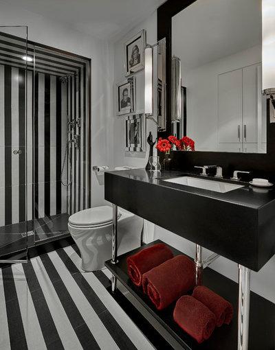 Contemporary Bathroom by Q Construction