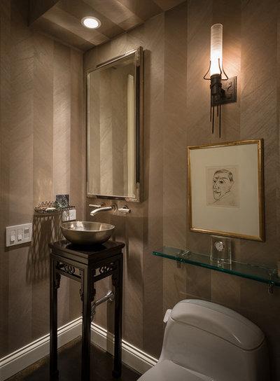 Contemporary Bathroom by Robyn Shapiro Design
