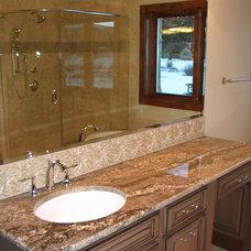 Traditional Bathroom by Rockridge Building Company