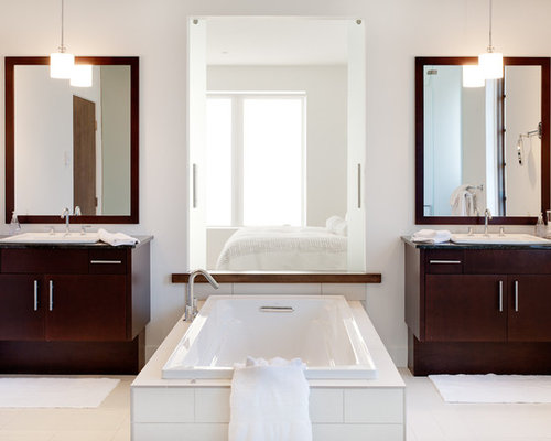 His And Hers Ensuite Vanity Houzz