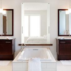 Contemporary Bathroom by Norelco Cabinets Ltd