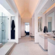 Contemporary Bathroom by Downey Robbins Szafarz Architects Inc.