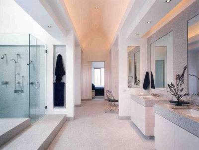Contemporary Bathroom by Downey Robbins Szafarz Architects Inc.
