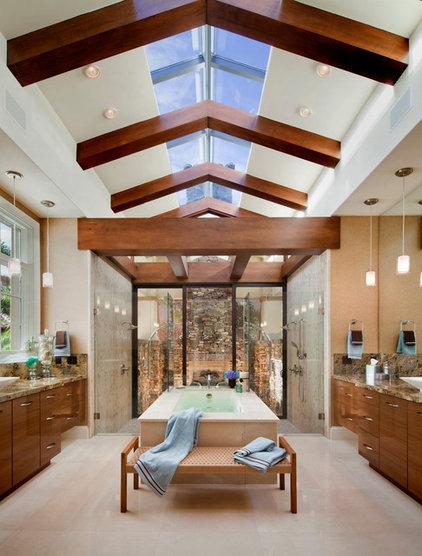 Contemporary Bathroom by Origins Residential Design