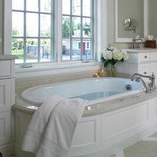 Traditional Bathroom by Thomas Cochren Homes