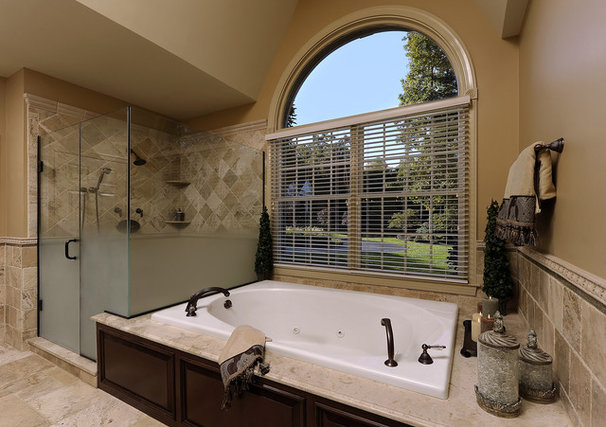 Traditional Bathroom by Davida's Kitchen & Tiles
