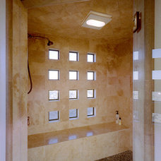 Mediterranean Bathroom by Kumaran Design