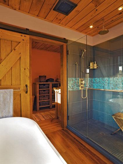 Farmhouse Bathroom by Cushman Design Group