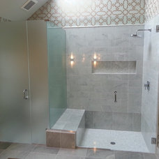 Contemporary Bathroom by Gordon and Sons Glass, Mirrors and Shower Doors