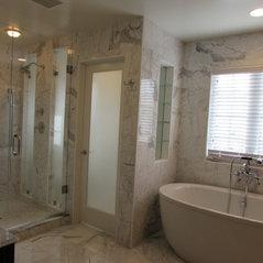 new market md gorgeous master bathroom remodel