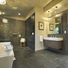 Contemporary Bathroom by Revealing Assets - Home Staging Services