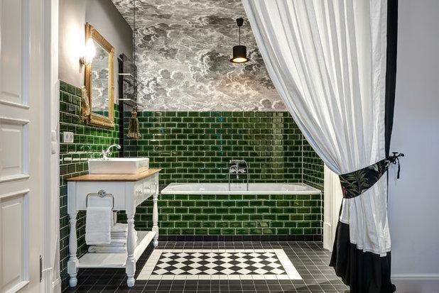 Klassisch Badezimmer by Giacomo Morelli photographer