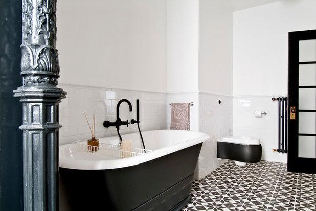 Modern Badezimmer by FJ Interior Design