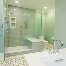 Transitional Bathroom by Michaelson Homes LLC