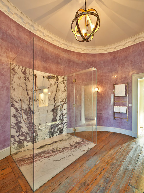 Marble Slab Shower Bathroom Ideas Pictures Remodel And Decor
