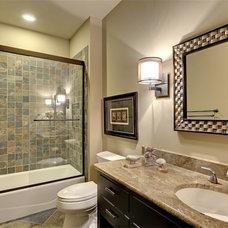 Traditional Bathroom by Stonewood, LLC