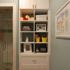 Eclectic Bathroom by Kitchens & Baths Unlimited