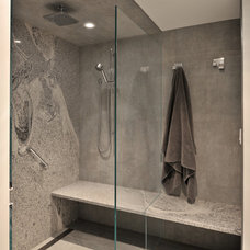 Contemporary Bathroom by Catherine Renae Thomas Design Co.