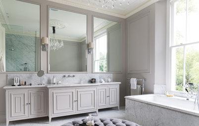 Fixa lyx i badrummet med eleganta, neutrala färger
