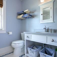 Traditional Bathroom by AMDG Architects