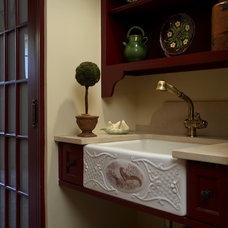 Traditional Bathroom by Robin Baron Design