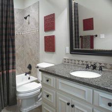 Traditional Bathroom by Dawn Hearn Interior Design
