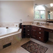 Traditional Bathroom by Discover Marble & Granite