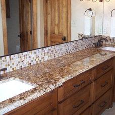 Traditional Bathroom by JFE Designs