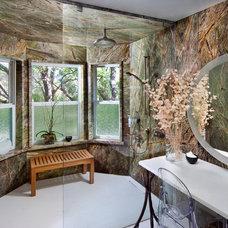 Eclectic Bathroom by Benning Design Associates