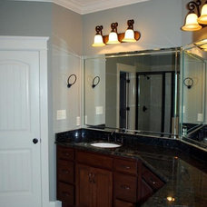 Traditional Bathroom by Coastal Stone & Cabinetry