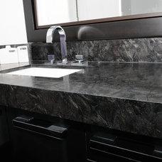 Contemporary Bathroom by TorontoGranite.com