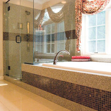 Contemporary Bathroom by Granite Transformations of St Louis