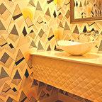 Tub Surround Contemporary Bathroom San Diego By B3