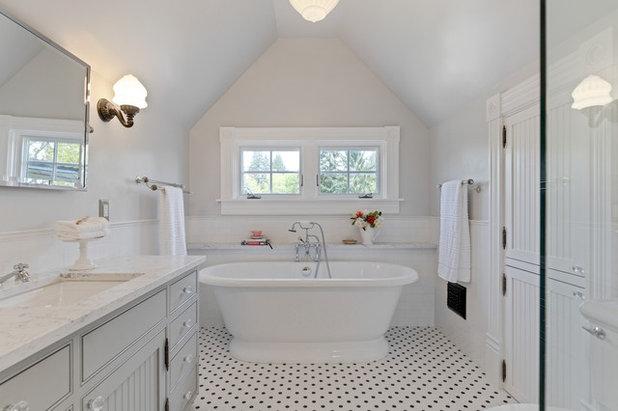 Victorian Bathroom by Corvallis Custom Kitchens & Baths