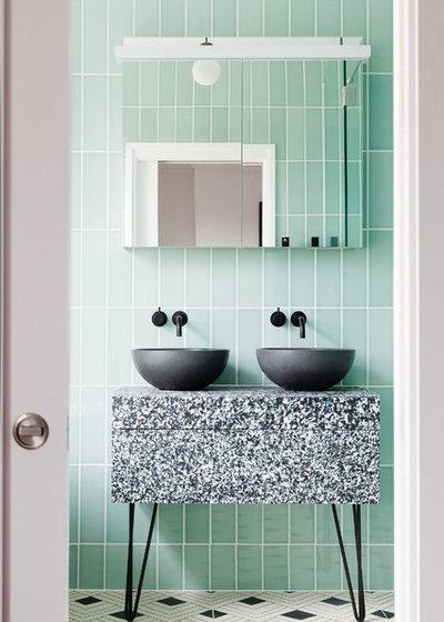Современный Ванная комната by 2LG Studio