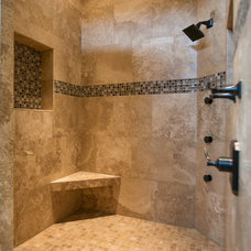 Mediterranean Bathroom by Amy Troute Inspired Interior Design