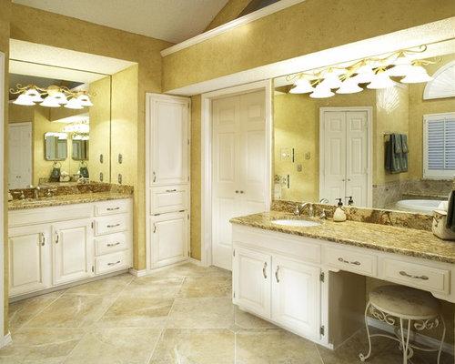 Granite Bathroom Floor Tile Design Ideas & Remodel Pictures | Houzz