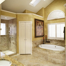 traditional bathroom by USI Design & Remodeling