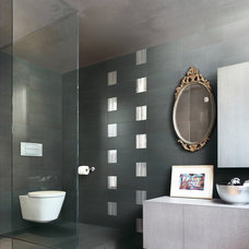 Eclectic Bathroom by Fiandre by Eurowest