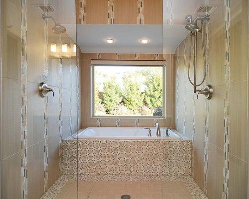 Modern dallas bathroom design ideas remodels photos for Bathroom remodel 8x5