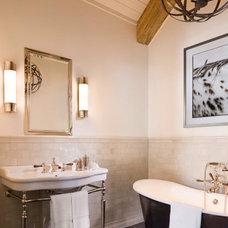 Rustic Bathroom by Jett Thompson Antiques & Interiors