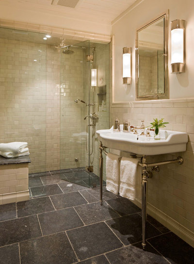 Traditional Bathroom by Jett Thompson Antiques & Interiors