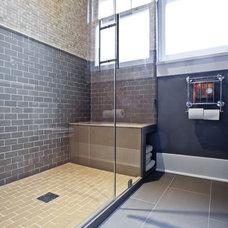 Traditional Bathroom by Gaspar's Construction